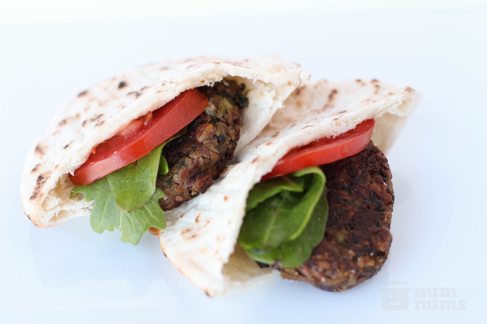 Chickpea Tahini Burgers from First Descents